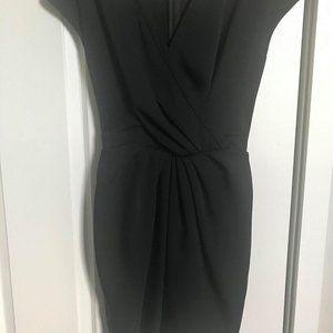 EUC Sz 4 Black ASOS Tulip Dress